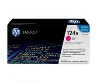 Картридж пурпурный HP Color LaserJet HP 124A Q6003A оригинальный