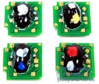 Чип желтого картриджа HP CLJ CP4025/CP4525