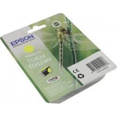 Картридж желтый Epson T0824 ,оригинальный