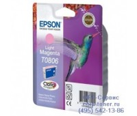 Картридж светло-пурпурный Epson T0806 ,оригинальный