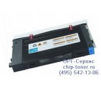Картридж голубой Samsung CLP-510 совместимый