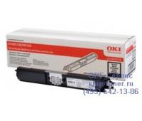 Картридж черный OKI C110 / C130 / MC160,  оригинальный