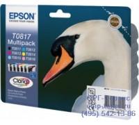 Набор картриджей Epson T0817 оригинальный