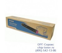 Тонер-картридж C13S050196 пурпурный Epson AcuLaser C9100 оригинальный