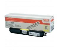 Картридж желтый 44250725 для Oki C110 / C130 / MC160 оригинальный