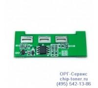 Чип голубого картриджа Samsung CLP-510