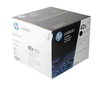 Комплект оригинальных картриджей HP LaserJet LJ 4250 / 4350 в комплекте  2 шт, оригинальный