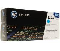 Картридж голубой 124A / Q6001A для HP Color LJ 1600,  2600,  2605,  CM1015 оригинальный