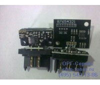 Чип черного фотобарабана Konica Minolta bizhub C451 / C550 / C650